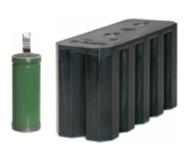 Щелочные никель-кадмиевые герметичные аккумулятор НКГ-8К и батарея 20НКГ-8К