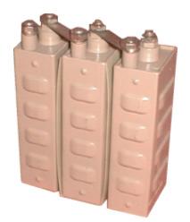 Щелочная никель-кадмиевая герметичная батарея 24НКГ-70КА