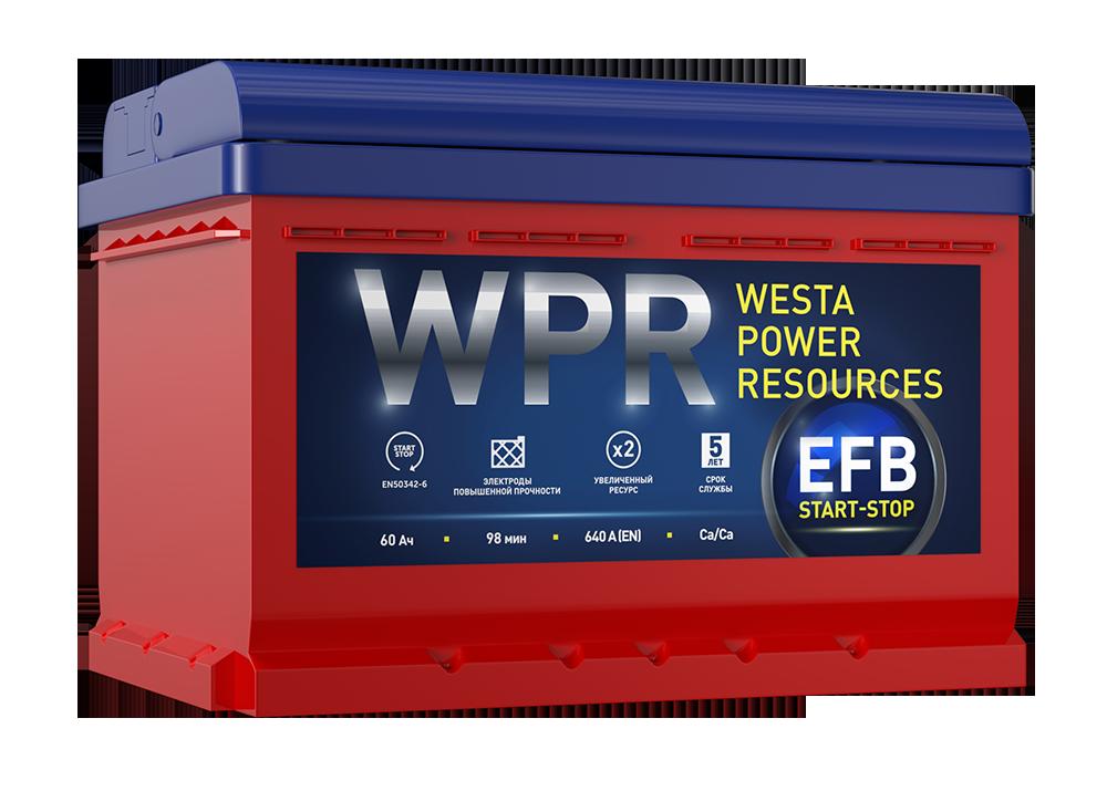 аккумулятор WPR EFB